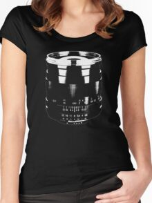 Manual Lens Lover photography Women's Fitted Scoop T-Shirt