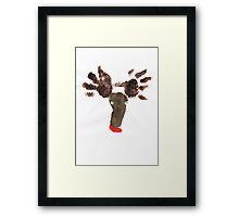 Williams Reindeers  Framed Print