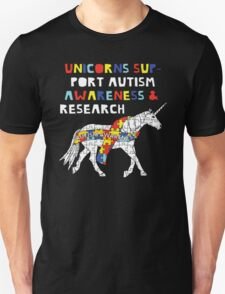 Autism Awareness Unicorn T-Shirt