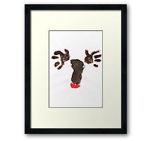 Williams Reindeer  Framed Print