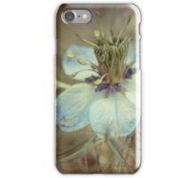 Love in a Mist -- Nigella iPhone Case/Skin