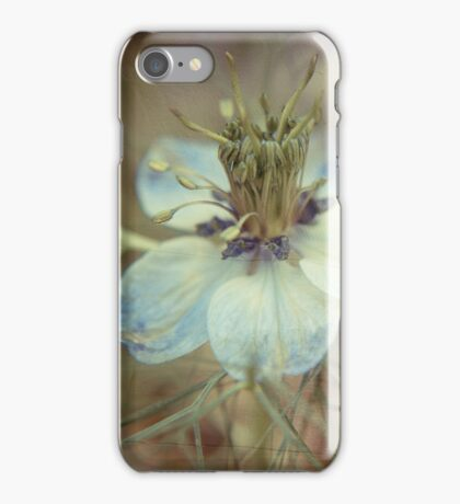 Love in a Mist -- Nigella iPhone Case/Skin
