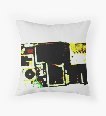 Sexy tech 2 Throw Pillow
