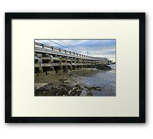 Cribstone Bridge - Harpswell, Maine Framed Print