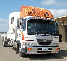 Towing the Food Van - Royal Hobart Show Tasmania 2011 by PaulWJewell