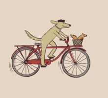 Dog & Squirrel are Friends by Jenn Inashvili