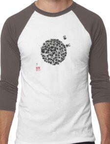 Swarm of Honey Bees Men's Baseball ¾ T-Shirt