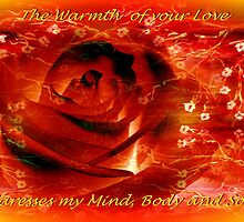 Greeting Card - Love by Robin Monroe