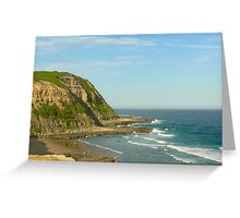 Bar Beach View Greeting Card