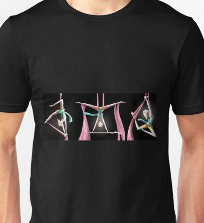 Aerial Silk Pearl Unisex T-Shirt