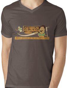 Goldberg's Deli & Subs Mens V-Neck T-Shirt