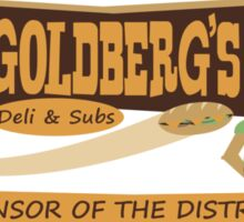 Goldberg's Deli & Subs Sticker