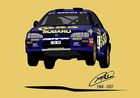 'Colin McRae 555' Subaru Impreza Tribute by Twain Forsythe