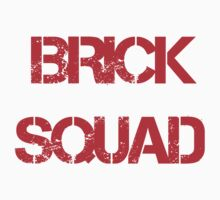 Brick Squad Hoodie by Lance  Porter