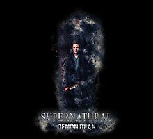 Supernatural Demon Dean Photographic Print