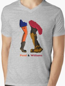 Pond & Williams Mens V-Neck T-Shirt