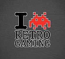 I Heart Retro Gaming by GriffintheMad