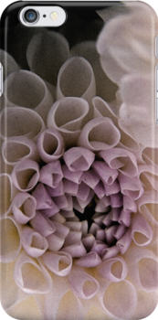 Dahlia in Pink (iPhone case) by Lenka