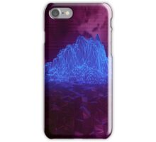 Cyber Mountain iPhone Case/Skin