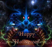 Halloween Blue Head Dragon by xzendor7