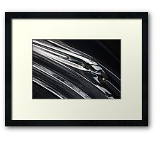 Liquid Chief Framed Print