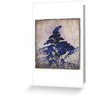 BLUE Goldenrod Greeting Card