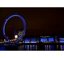 London Eye at Twilight Photographic Print