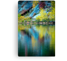 A Quiet Morning In Fall Canvas Print