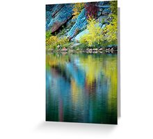 A Quiet Morning In Fall Greeting Card