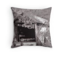 A Moment to Explore Yesterday Throw Pillow