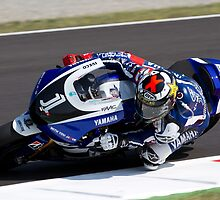 Jorge Lorenzo in Mugello 2011 by corsefoto