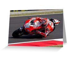 Nicky Hayden in Mugello 2011 Greeting Card