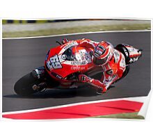 Nicky Hayden in Mugello 2011 Poster
