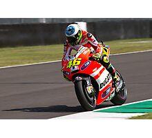 Valentino Rossi in Mugello 2011 Photographic Print