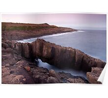 rock arch / shellharbour Poster