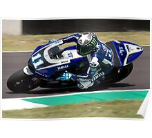 Ben Spies in Mugello 2011 Poster