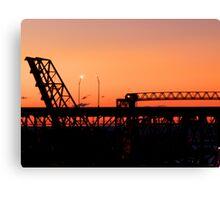 Cleveland Sunset Canvas Print