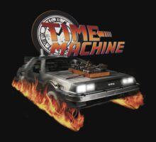 Time Machine Classic Car Delorean by scubhtee