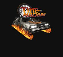 Time Machine Classic Car Delorean Unisex T-Shirt