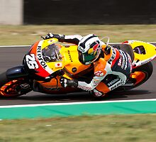 Dani Pedrosa in Mugello 2011 by corsefoto