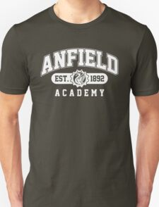 Anfield Academy (White) T-Shirt