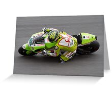 Loris Capirossi in Assen Greeting Card