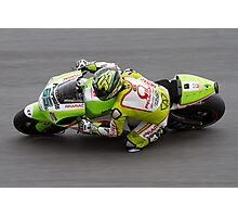 Loris Capirossi in Assen Photographic Print