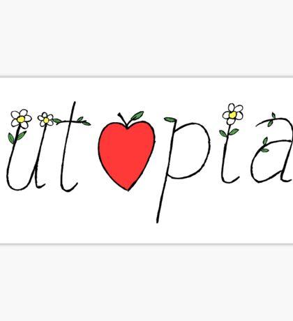 Utopia Sticker