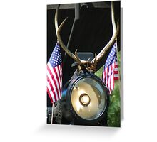 A Fleet Running Patriot - SVRR Greeting Card