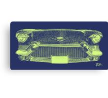 Cadillac Grill Canvas Print