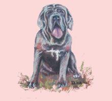 Mastiff T-shirt by Dianne  Ilka