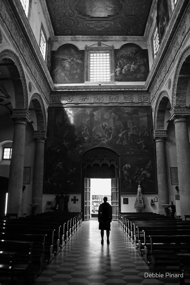 Church - Gallipoli Italy by Debbie Pinard