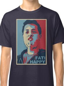 FAT AND HAPPY Classic T-Shirt
