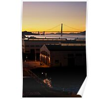 Fort Mason Sunset Poster